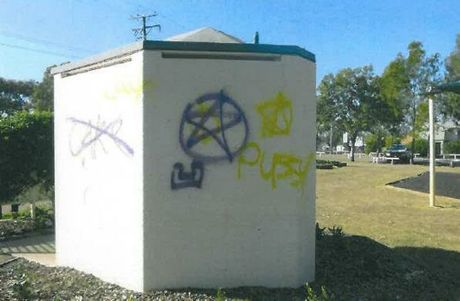 Police are investigating vandalism at Rotary Park at Oakey.