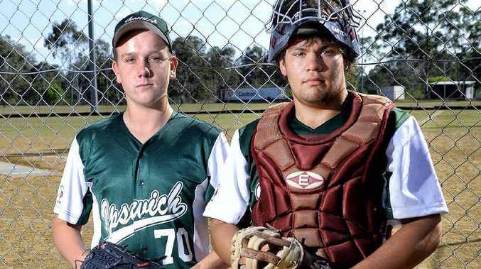 LOOKING AHEAD: Queensland under-17 representatives Joshua Harding (left) and Jonathon Todd.