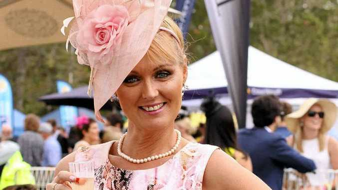TICKLED PINK: Candy Fitness, of Candy Lane Fashion at Alstonville, is helping to organise the Tickled Pink High Tea at Summerland House Farm.