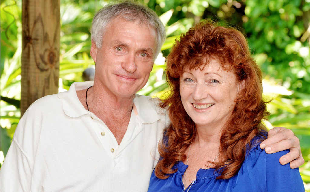 HOME AGAIN: Peter Paynter and partner Sue Deboni are happy the misadventure ended well.