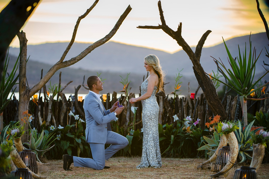 Blake Garvey proposes to Sam Frost in The Bachelor finale.