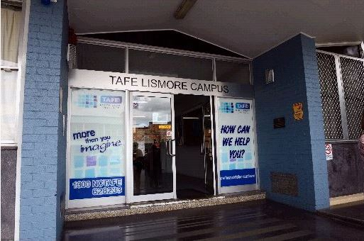 The entrance to Lismore Tafe