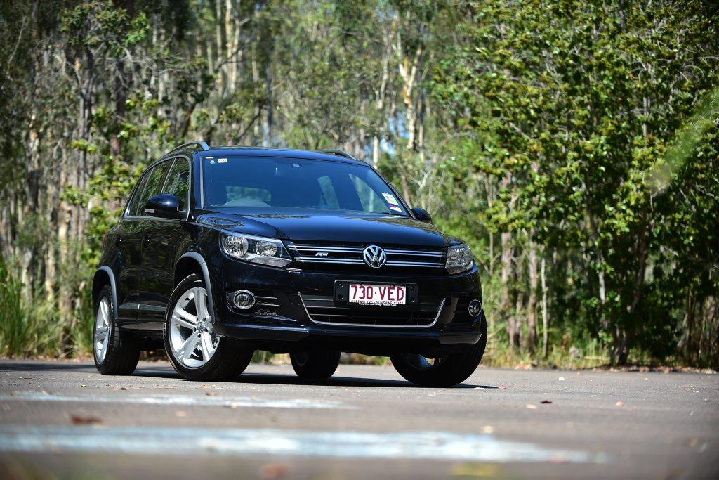The 2015 VW Tiguan R-Line. Photo: Iain Curry / Sunshine Coast Daily