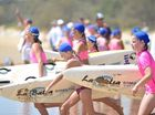 Mooloolaba Nippers start the season. October 5, 2014 Board race. Photo: Warren Lynam / Sunshine Coast Daily