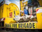 Fire hose valves on Benaraby Rural Fire Brigade's fire fighting vehicle. Photo Luka Kauzlaric / The Observer