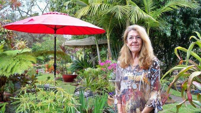 Lynne Randall of Kyogle in her grand champion garden.