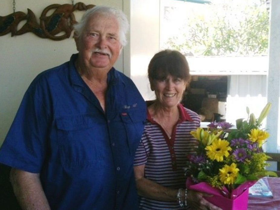 Alan and Denise Hansell have been happily married for 50 years.