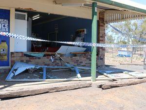 Lockyer Valley store ram raided