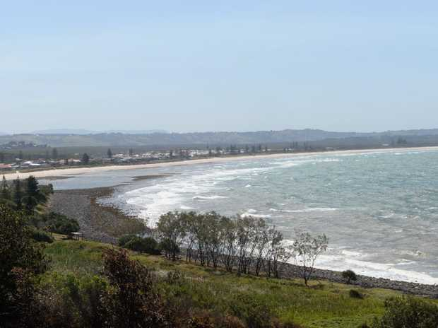 Seven Mille Beach at Lennox Head. Photo : Mireille Merlet-Shaw/The Northern Star