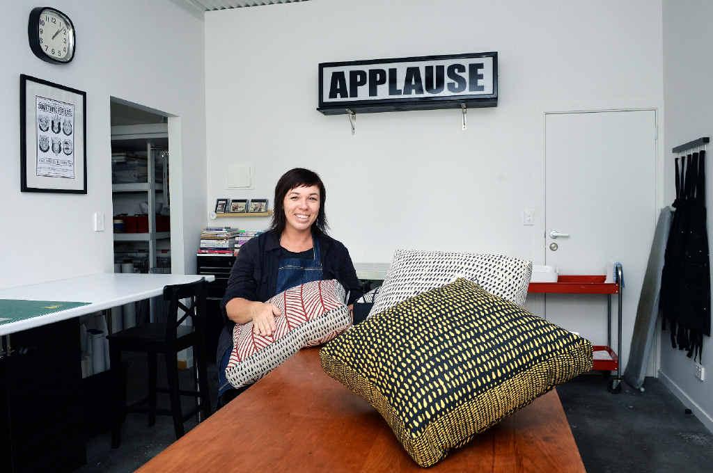 INTERNATIONAL HOPES: Artist and designer Carla Dawes is a finalist in the Etsy design awards.