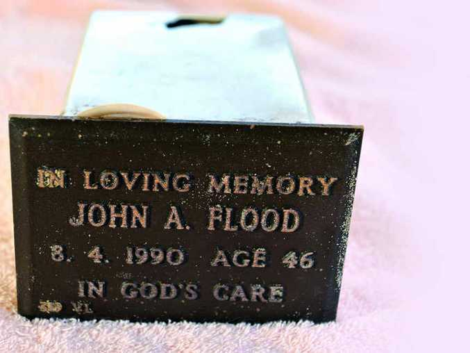 WHO WAS HE? The empty cremation container that was found at Maroochydore beach.