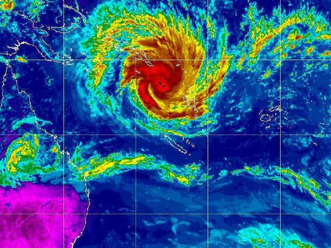 THEY'RE COMING: Cyclone Yasi in 2011.