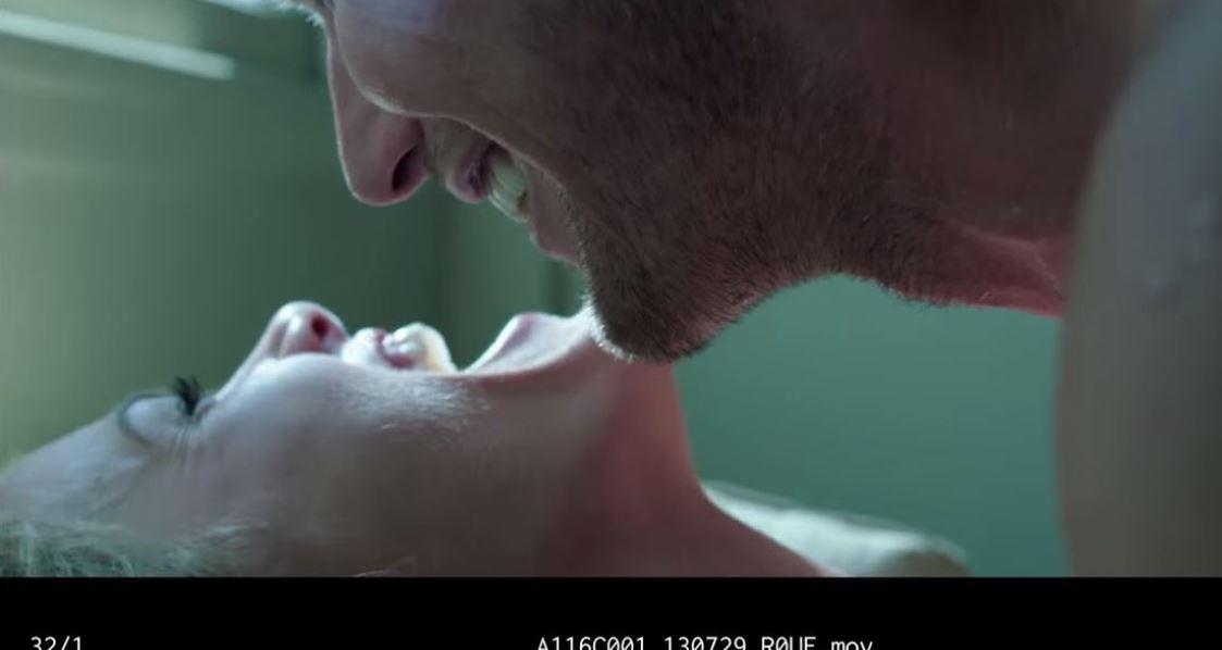 Awkward sex scene from the film Stretch