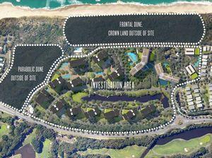 Town plan shock: Sekisui's plan for 17 beach buildings