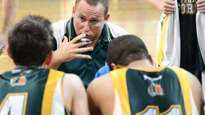 OUT OF FAVOUR: Ipswich Force QBL head coach Andrew Summerville is unhappy about not getting a chance to renegotiate his future.