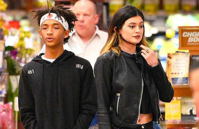 Jaden Smith and Kylie Jenner