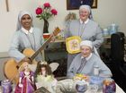 "Missionary Sisters of St Peter Claver (from left) Sr Reena John, Sr Eileen March and Sr Miriam Lorenz look forward to their ""The Rare and the Beautiful"" sale."