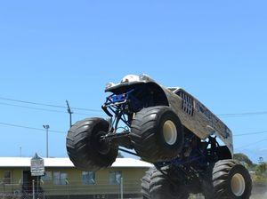 Monster trucks in Mackay