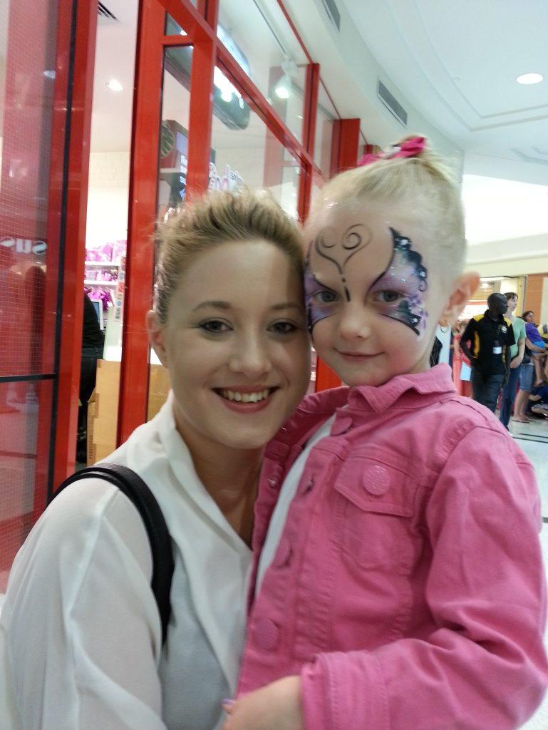 Stevie Little with her daughter Imogen Sternsdorf.