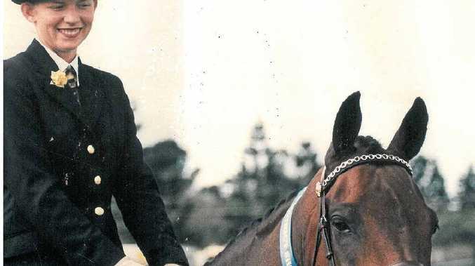 Alex Rowe was keen on equestrian sport.