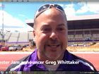 Monster Jam announcer Greg Whittaker