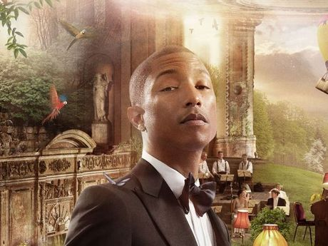 Pharrell Williams has a prominent role in the star-studded cover of 'God Only Knows' released by the BBC