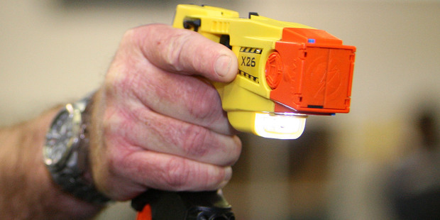 A Taser gun used by the police