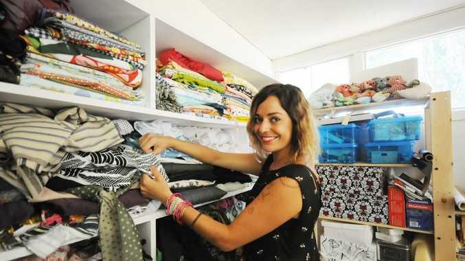 Byron Bay fashion designer Mia Brennan.