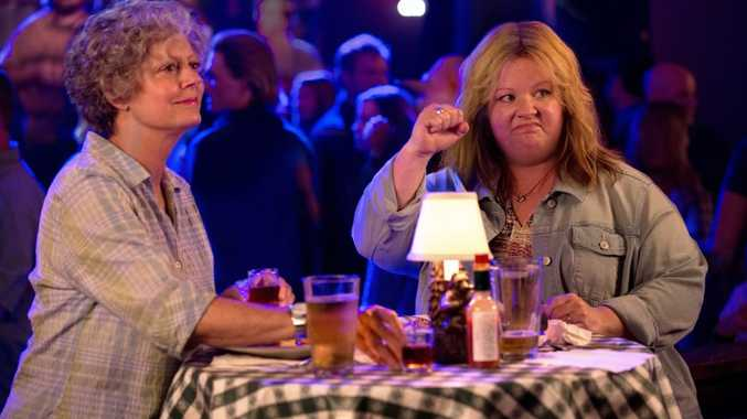 Susan Sarandon and Melissa McCarthy in a scene from Tammy.