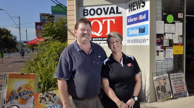 TOP TEAM: Kevin and Nadine Cutts from Booval News.