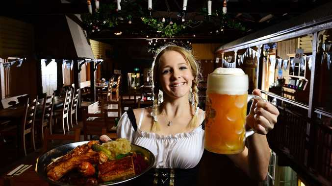 IN THEME: Yani Keen of Viva Italia is getting into the German spirit for Oktoberfest.
