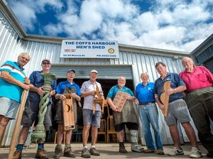 Touch wood, men's shed in urgent need of support