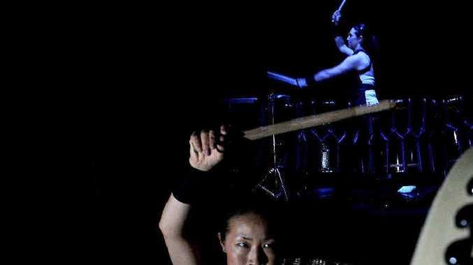 BOOM: World-acclaimed taiko drumming ensemble, TaikOz, presents new work, Crimson Sky.