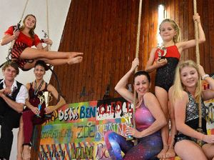 Circus students are up to the challenge