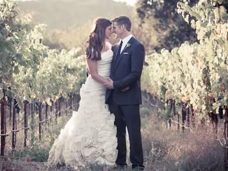 Brittany Maynard and husband Dan on their wedding day