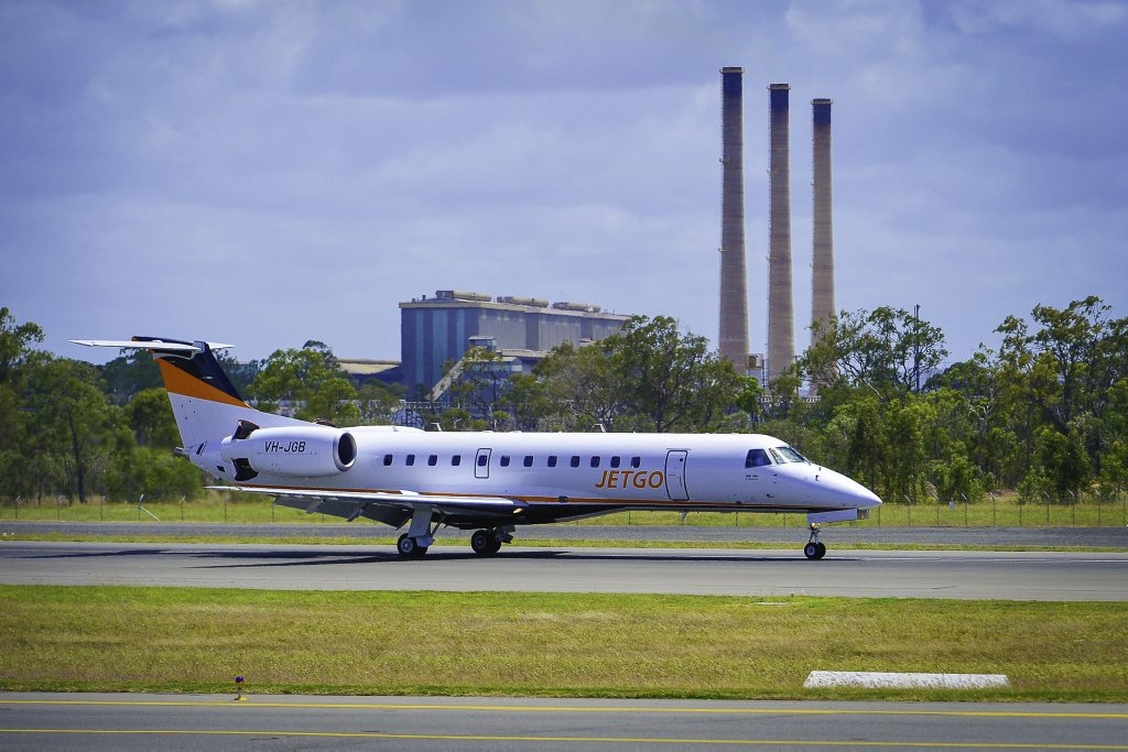 Jetgo has suspended its service between Gladstone and Sydney. Photo: Mike Richards
