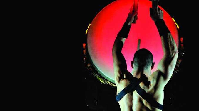 BIG BANG THEORY: Australia's world-acclaimed taiko drumming ensemble, TaikOz, presents a stunning new work, Crimson Sky, at the Lismore city hall tonight.