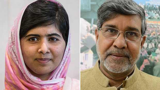 Malala Yousafzai and Kailash Satyarthi win the Nobel peace prize