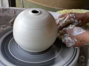 Petrie Park Pottery group meets every Thursday at 9.30am