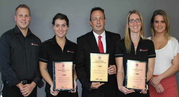 TEAM EFFORT: Bob Gunn Termite Solutions was judged 2014 Australian Pest Manager of the Year at the Australian Pest Managers Association national conference.