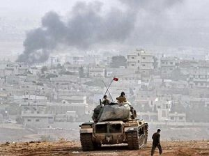 Civilians trapped as IS surrounds Kurdish troops