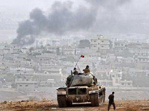 Civilians trapped as IS surrounds Kurdish troops