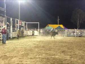 Thrills and spills from Miriam Vale Rodeo