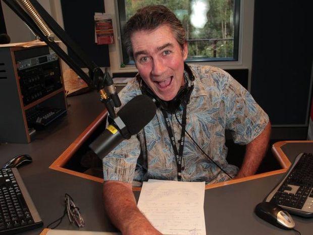 Long-time ABC Coast FM announcer John Stokes.