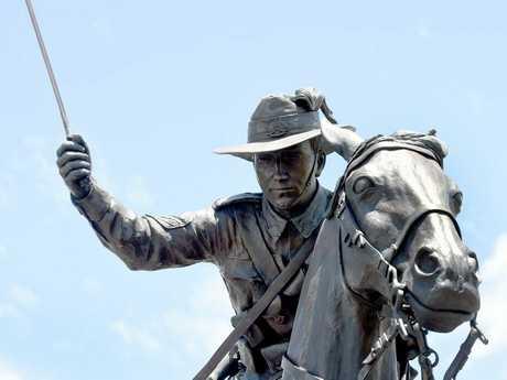 Freedom Park, Hervey Bay, Light Horse Statue Dedication -