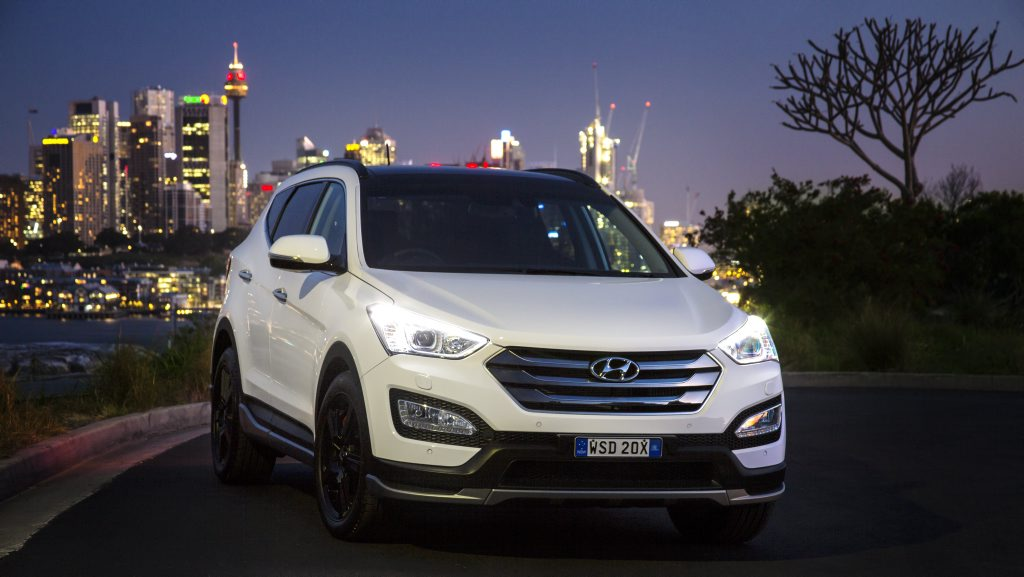 The new Santa Fe SR will be released early next year.