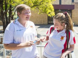 No denying it, South High girls calm for HSC
