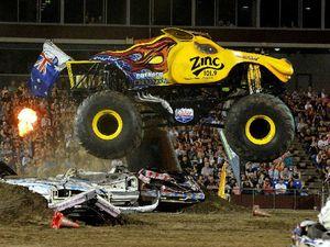 Monster Truck show is a monstrous success