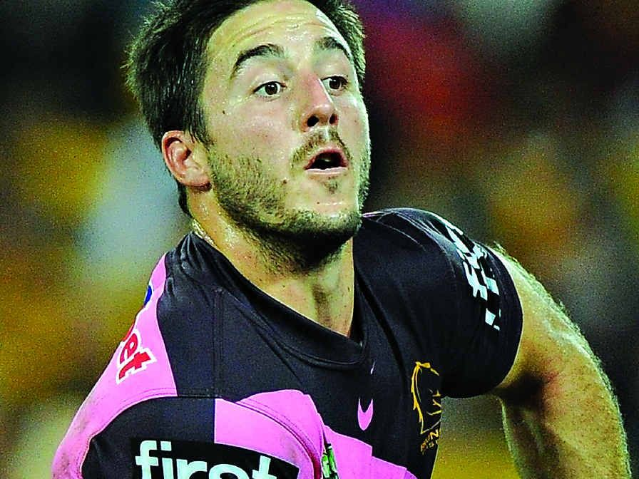 SUPER SEASON: Ben Hunt in action for the Broncos earlier this season.