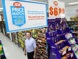 Smaller IGA outlets take on Coles and Woolies